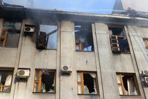 В Горловке попал снаряд в общежитие пединститута