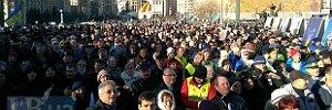 На Майдане собираются люди