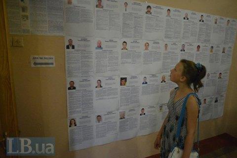 На выборах в областные советы баллотируются 16 губернаторов и 24% глав РГА