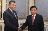 Янукович поддержал Китай в борьбе сепаратистами