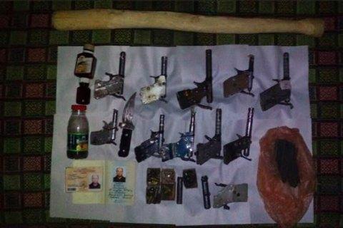 Под Одессой милиция изъяла упенсионера целый арсенал самодельного оружия