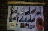 У пенсионера в Одесской области нашли 11 самодельных пистолетов