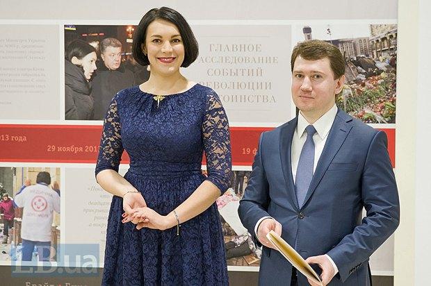 Соня Кошкина и Владимир Застава, эксперт Института Горшенина