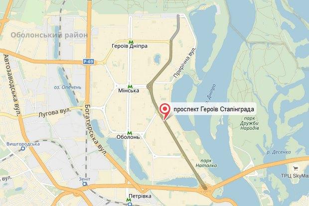 ВШевченковском иДнепровском районах столицы Украины снова переименуют улицы