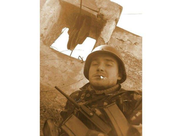 Один зі знімків, який залишився на телефоні загиблого Дмитра «Поета» Шабрацького