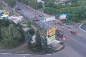 Из Ростовской области в Украину движется колонна военной техники