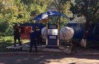 В Киеве демонтировали АГЗС возле Института ядерных исследований