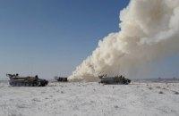 Украина провела ракетные учения в Херсонской области