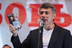 Немцов обратился к Януковичу по поводу запрета на въезд в Украину