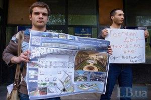 Киевсовет отобрал Гостиный двор у застройщика