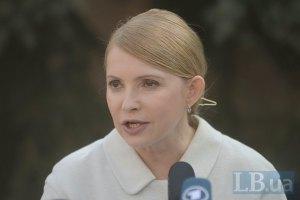 Тимошенко требует вести переговоры с Путиным с позиции силы