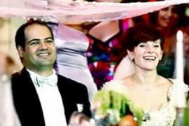 Брат Клюева выдал дочь замуж в венском замке