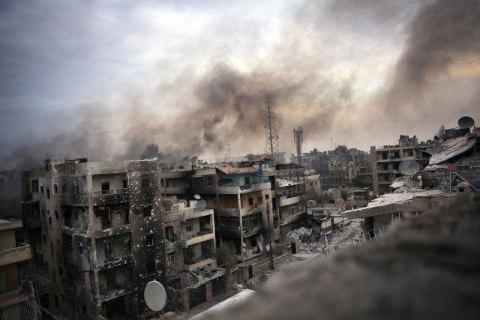 Белый дом потребовал немедленно закончить «чудовищные» бомбардировки Алеппо