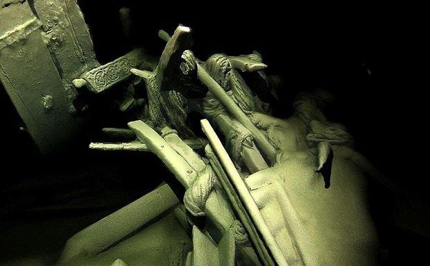 Надне Черного моря археологи обнаружили кладбище древних кораблей