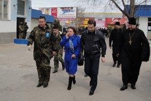 Коновалюк видел, как проходил штурм штаба ВМС Украины