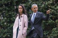 Дочь Обамы пойдет в Гарвард