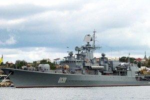 Информация о перебазировании военных кораблей в Крыму оказалась ложной