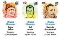 Россия готовится отдать 17 заключенных украинцев
