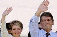 Тимошенко заявила, что провела за Ющенка президентскую кампанию