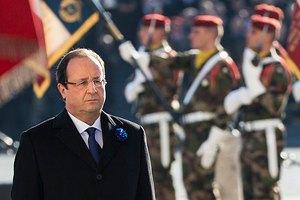 """Франция передаст России """"Мистрали"""" только после мира в Украине"""
