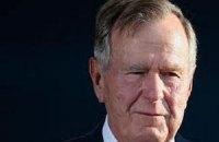 Джорджа Буша не выпустили из больницы