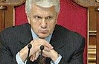 Депутатам, блокирующим трибуну, Литвин грозит лишением зарплаты
