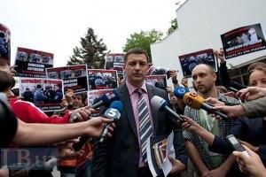"""Милиция считает странной """"палаточную"""" акцию журналистов"""