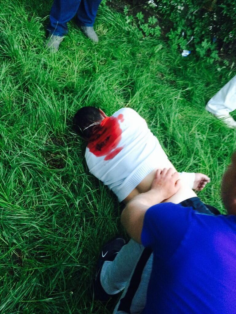 Убитый в Красноармейске