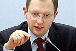 Яценюк пообещал купить Тимошенко стиральную машинку