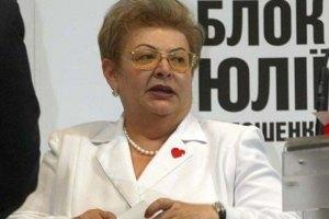 Тете Тимошенко на глазах у гаишников прокололи колеса автомобиля