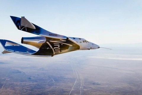 Virgin Galactic провела тестирования нового космического корабля SpaceShipTwo