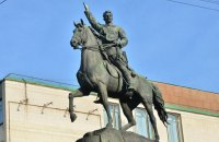 Поліція взяла під охорону пам'ятник Щорсу в Києві