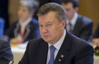 Янукович выразил соболезнования родственникам убитого мэра
