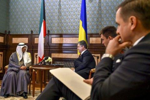 Порошенко принял верительные грамоты у послов четырех стран
