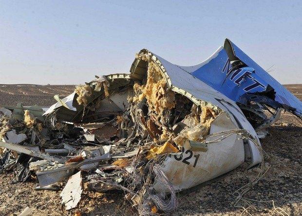 На месте падения российского самолета нашли «черный ящик»