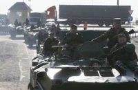 К Счастью, Первомайску, Попасной и Славяносербску стягивают военную технику