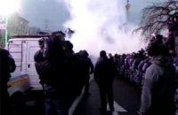 """На Майдане начались столкновения между """"Беркутом"""" и активистами"""