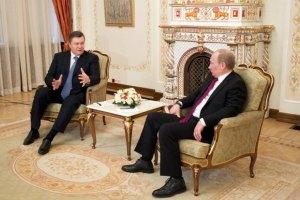 Янукович с Путиным планируют подвести итоги газовых переговоров