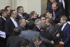 Не успела Рада открыться, как депутаты уже подрались