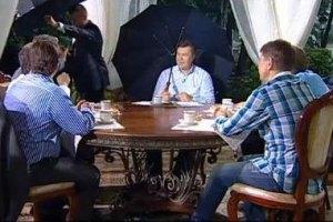 Януковичу по душе чай и хлеб с маслом