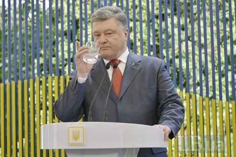 Порошенко: РФ пробует дестабилизировать Украинское государство, спекулируя натеме рейдерства итарифов