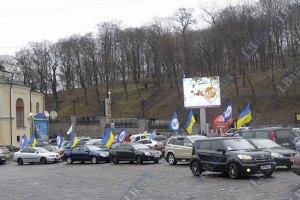 К АвтоМайдану присоединились байкеры