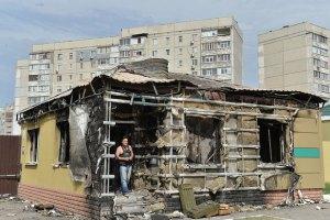 16 мирных жителей погибли и 66 ранены из-за артобстрелов Луганска 18 июля (исправлено)