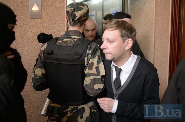 Пресс-секретарь «Правого сектора» Артем Скоропадский