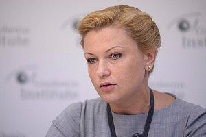 """Продан изложила следователю доказательства фальсификации """"закона против Кличко"""""""