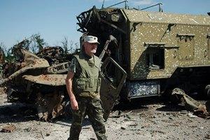 Позиция Зенит в трех километрах от занятого боевиками Спартака