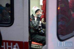 Часть медиков-волонтеров выгнали с Майдана