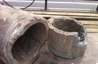 В Запорожье прорвало канализационный коллектор