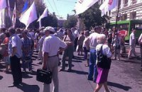 Субъективный репортаж о том, как поддерживали Тимошенко (ФОТО)