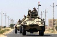 12 египетских солдат погибли в бою с боевиками на Синайском полуострове